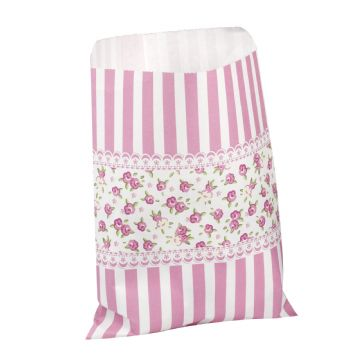 Frills & Spills - Candy-stripe Sweetie Bags - pack of 25